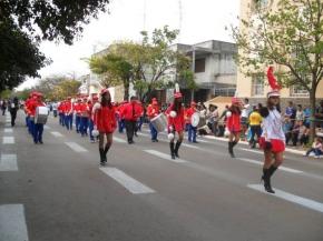 Escola realiza seu desfile em comemoração à independência do Brasil
