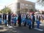 Professoras e alunos desfilam com orgulho (Foto: Divulgação/Sec. de Educação)